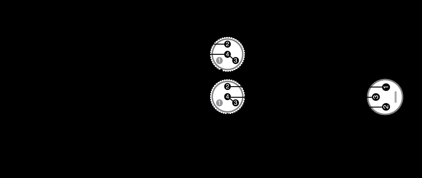 Mini 4 Pin Xlr Wiring Diagram - Wiring Diagram